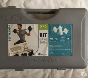 Pesi- Kit Manubri e Bilanciere per Body Training 30Kg