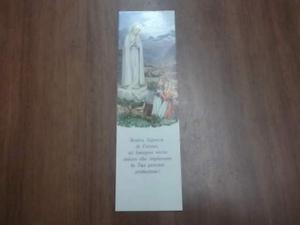 Santino Madonna di Fatima (O-105)