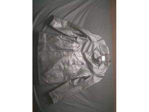 Giacca e cappotto tg 46 pelle nera