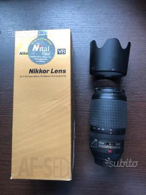 Nikon AF-S  ED VR II NITIAL