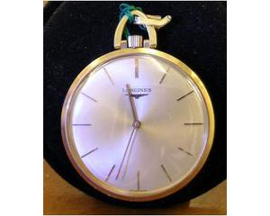Orologio da tasca Longines in oro 18 kt