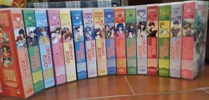 VHS serie animate e o.a.v. Giapponesi