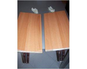 2 mensole ikea complete di staffe posot class for Mensole alluminio ikea