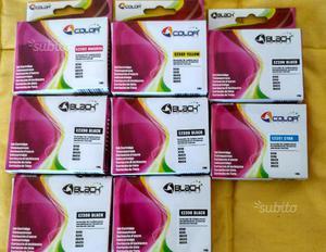 8 cartucce E55X20 compatibili per stampanti EPSON