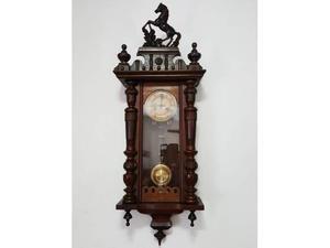 Antico orologio a pendolo Junghans XIX secolo