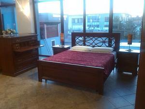 Camera da letto legno massello