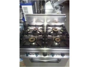 Cucina 4 fuochi con forno a gas serie 70x80