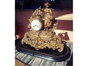 Lancette x parigina pendolo camino dell epoca posot class - Orologio a pendolo da tavolo ...