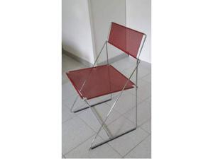 Sedie moderne in acciaio colorato