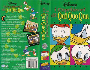 Videocassette VHS Originali Walt Disney