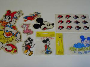 Adesivi Walt Disney Classic Paperina Topolino anni 80 mdr