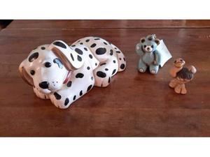 Lotto di tre oggetti in ceramica Thun