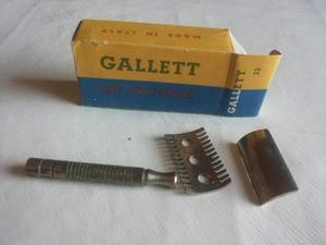 """Vecchio rasoio da barba """"Gallett"""" n.23"""