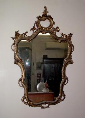 Bastoncini bacchette di legno per lo zucchero posot class - Specchio con cornice dorata ...