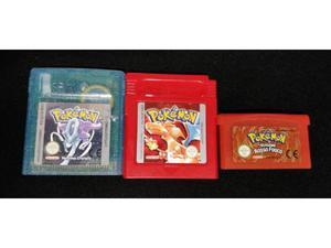 Pokémon cristallo, rosso e rosso fuoco