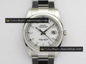 Rolex Replica DateJust  White Dial