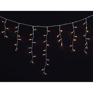 vidaXL Luci Natale LED a cascata 3,9 m., per interni e