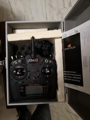 Radio Spektrum Dx8 G2 in ottime condizioni come nuova