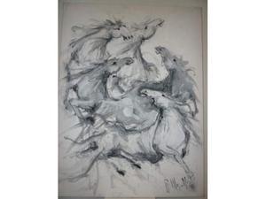 4 dipinti di Merelli