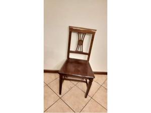 4 sedie in legno di faggio