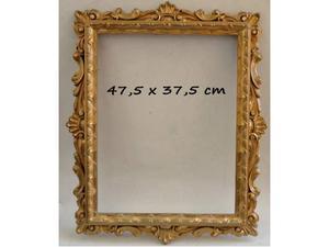 Cornice in legno dorato (47,5 x 37,5 cm)