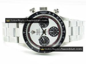 Rolex Replica Daytona White-Black Dial Bezel