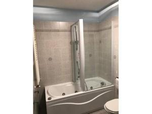 Pannello colonna doccia idromassaggio a in alluminio bianco o nero
