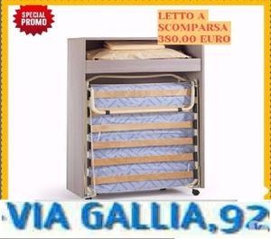Mobile Letto Pieghevole.Mobile Letto Pieghevole A Scomparsa Posot Class