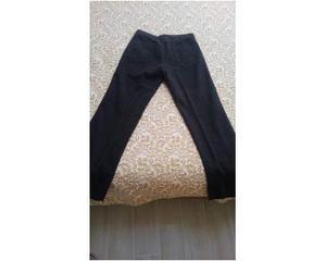 Pantaloni uomo tg 48 grigio scuro tessuto molto bello