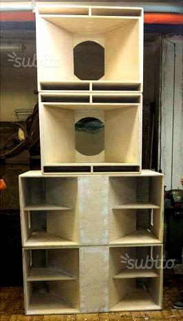 Sound system w-bin RCF 10 kw