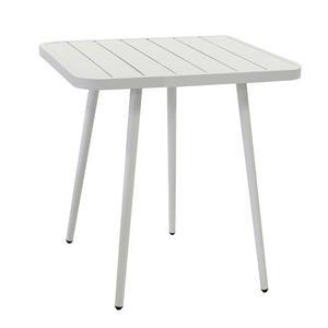 Tavolo Da Giardino In Alluminio Quadrato 80x80x76cm Adami
