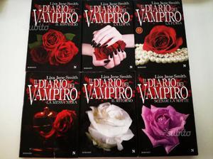"""6 libri della saga """"IL DIARIO DEL VAMPIRO"""""""