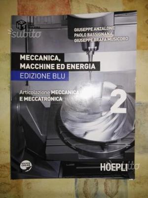 Libro di testo MECCANICA, MACCHINE ED ENERGIA 2 Ed