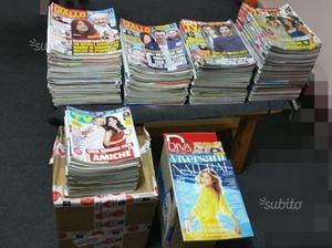 Stock fascicoli riviste TV e vari tipi