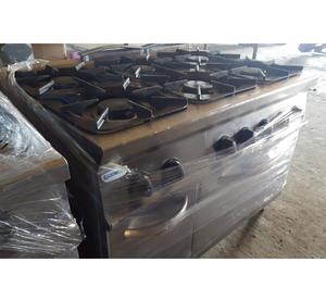 cucina 6 fuochi gas con forno elettrico usata revisionata