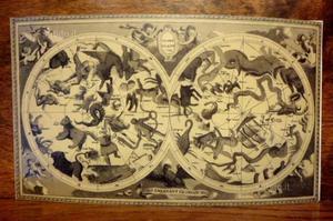 Cartoncino di auguri vintage degli anni '60