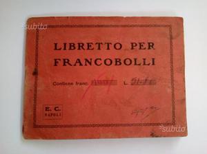 Libretto francobolli italiani e stranieri del