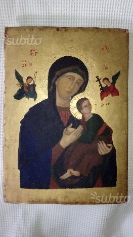 Madonna del soccorso Perpetuo Icona del 900