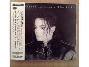 Michael Jackson Who Is It Remixes CD Japan con OBI