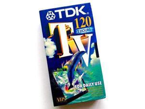 N°3 VHS da 120 TDK