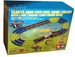 Pista ovale a due corsie mini 4wd tamiya