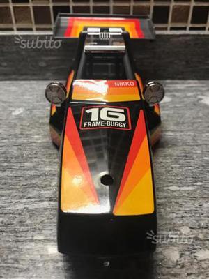 Scocca NIKKO rc buggy black fox  japan nuova