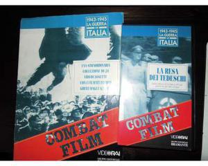 Vhs  la guerra in italia. 24 videocassette combat