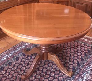 Tavolo soggiorno in legno allungabile con 6 sedie