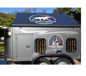 carrello trasporto cani