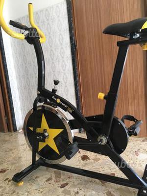Cyclette bicicletta da spinning come nuova