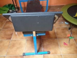 Panca attrezzi palestra fitness body building