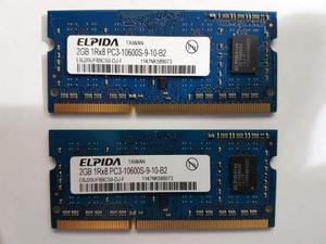 Ram 2x2gb Totale 4GB DDR3 a mhz