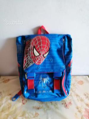 """Zaino scuola estensibile di """"Spider Man"""""""