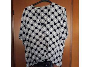Camicia in viscosa taglia 48, maniche corte